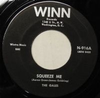 Gales,The - Squeeze Me/I Love You (N-916) M-
